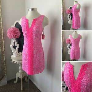 🌺Lilly Pulitzer  Beautiful Print Pink Dress